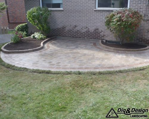 Interlock patio 10