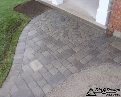 Interlock patio 9