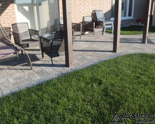 Interlock patio 12
