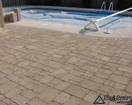 Interlock patio 7