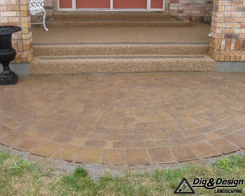 Interlock patio 5
