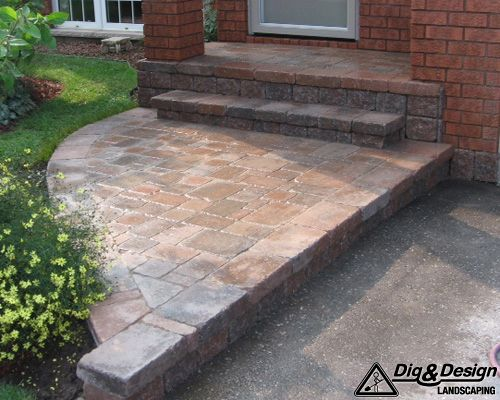 Interlock patio 6
